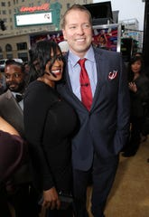 Kenya Duke and Gary Owen seen at the The World Premiere of Screen Gems' 'Think Like a Man Too' on Monday, June 9, 2014 in Los Angeles. (Photo by Eric Charbonneau/Invision for Screen Gems/AP Images)