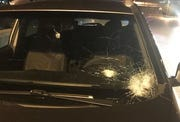 Rocks and objects have been thrown at cars on Interstate 75 on two separate occasions last week.