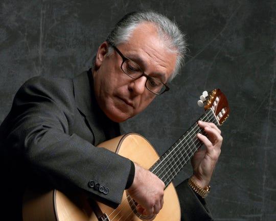 Classical guitarist Pepe Romero