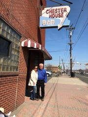 Manville's 102-year-old Chester House Bar run by the Trojanowski family (Tommy Trojanowski and sister Maria pictured) for three generations will most likely close in April. In the near future, a Royal Farms convenience store and gas station will stand where Chester House made its mark in the borough.