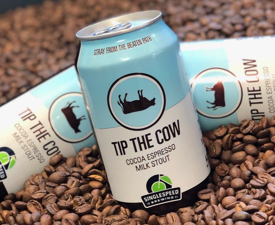 Tip the Cow beer won the Register's 2019 all-Iowa Beer Bracket. It's brewed by SingleSpeed Brewing Company in Waterloo.