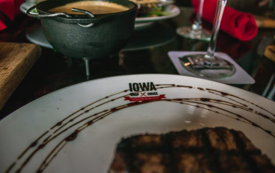 "The Chop House in Iowa City was named 'Best Steakhouse in Iowa' by Food Network as part of its '50 States of Steakhouses"" list."