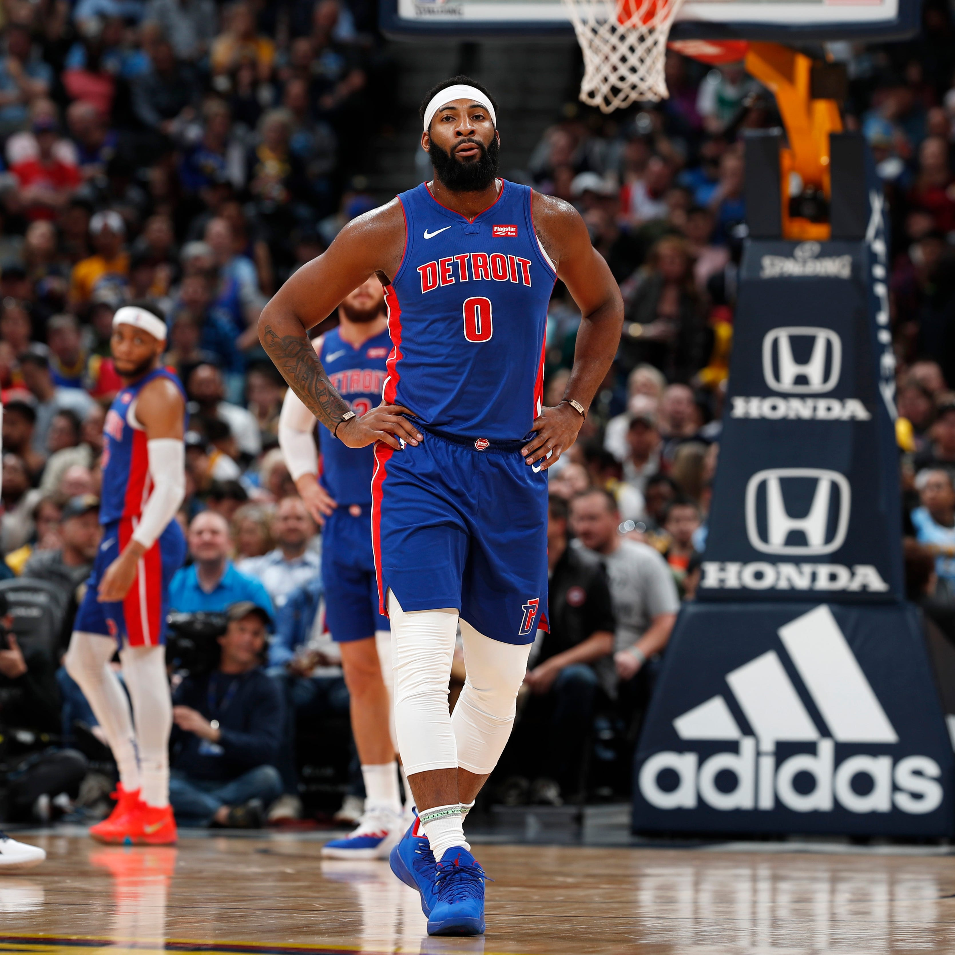 Detroit Pistons' comeback fails in loss at Denver, loosening playoff grip