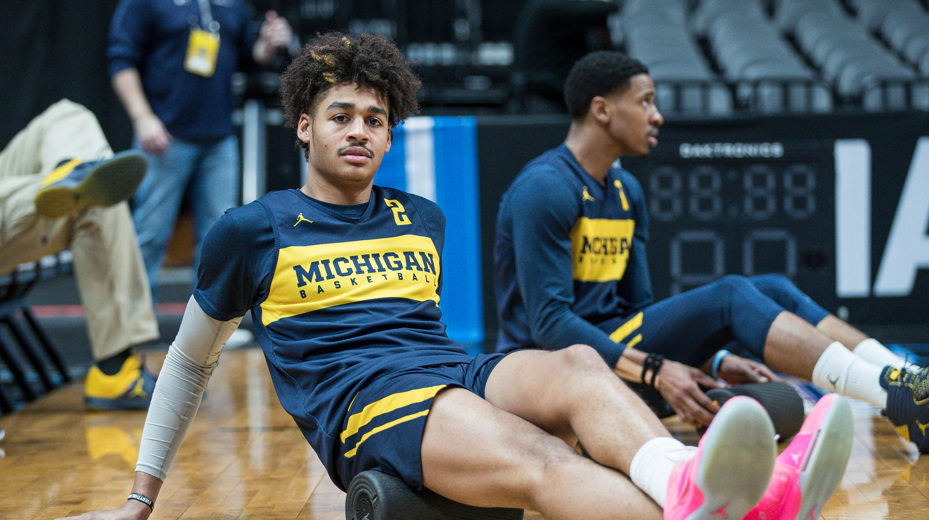 3cd877209f3 Michigan basketball's Jordan Poole appears to be selling video messages