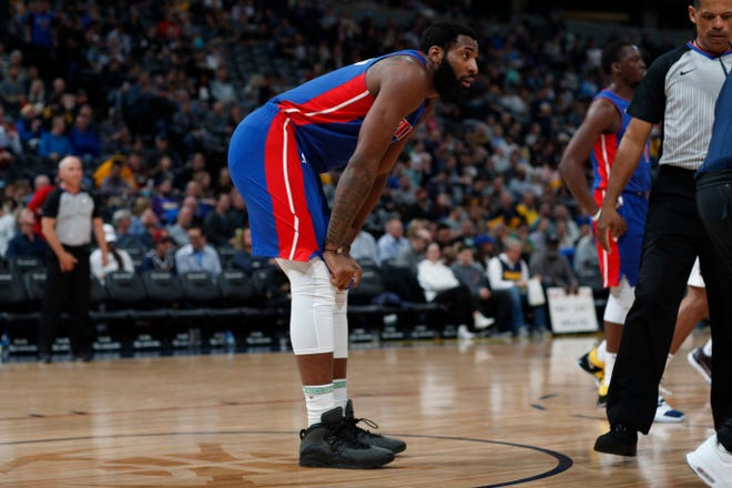 Center Andre Drummond and the Pistons have a crucial game tonight against another team (Orlando) fighting to make the playoffs.