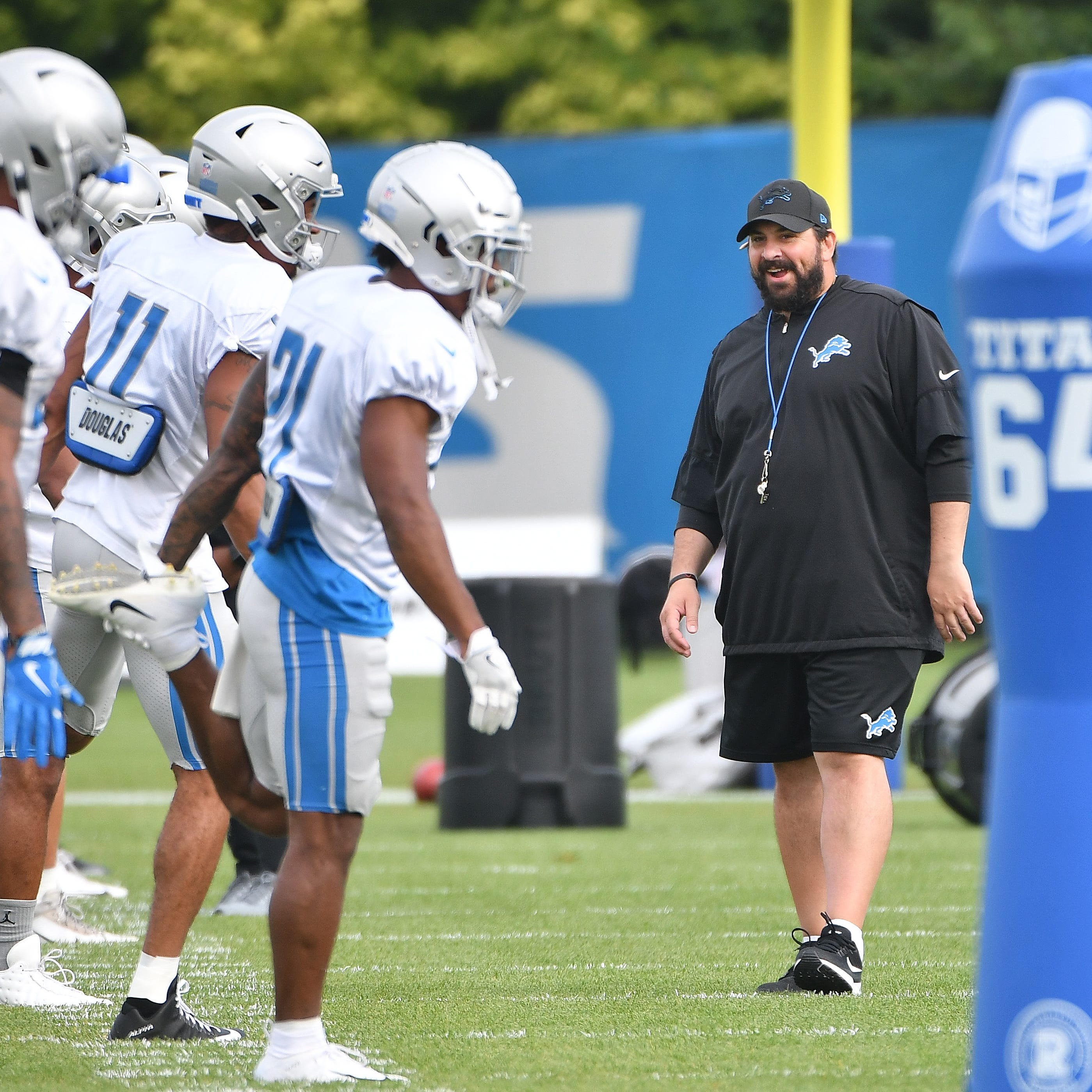 Matt Patricia strivesfor more personal approach with Lions players in second season