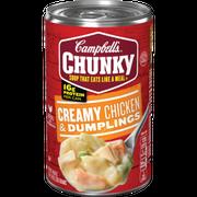Campbell's Chunky Creamy Chicken & Dumplings soup