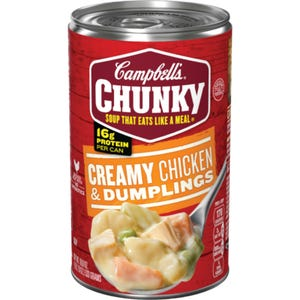 Campbell's Chunky Creamy Chicken & Dumplings soup