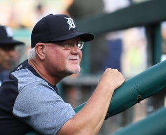 Tigers manager Ron Gardenhire met the media Thursday morning at Comerica Park, on Opening Day in Detroit.