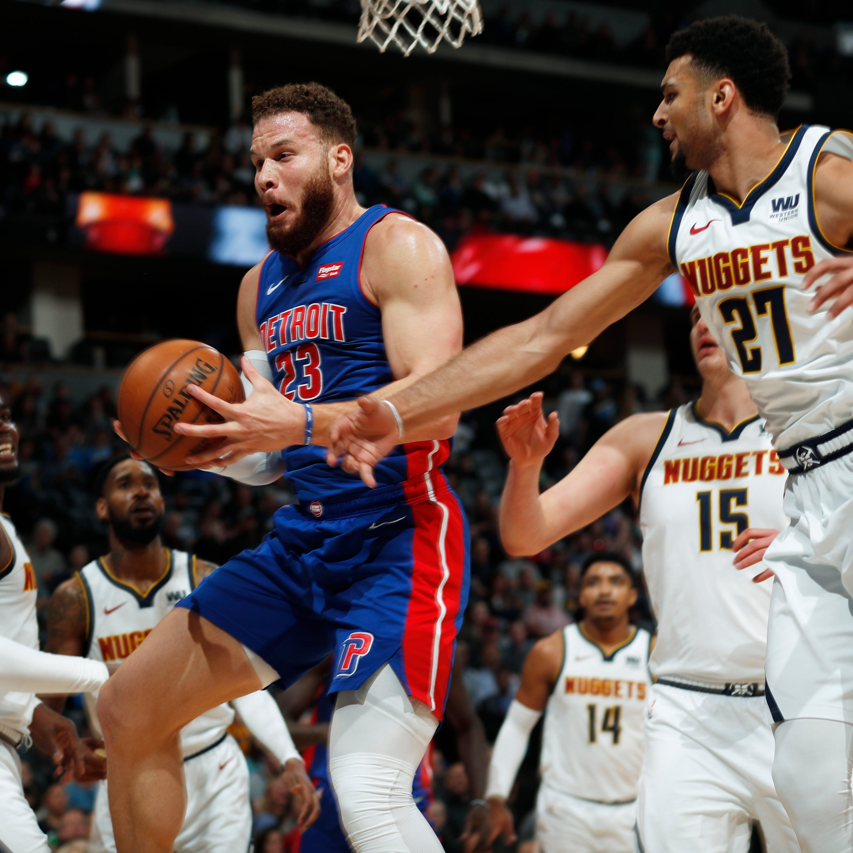 Terrible first quarter sinks Pistons vs. Nuggets as playoff position weakens