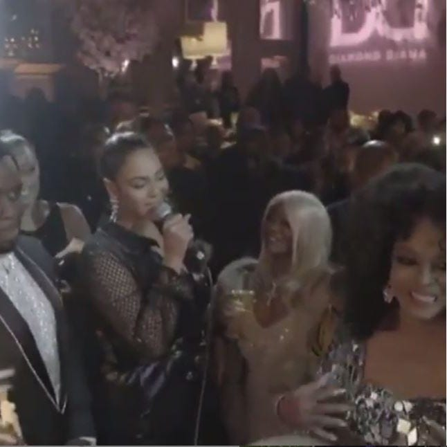 Watch: Beyoncé serenades Diana Ross for 75th birthday