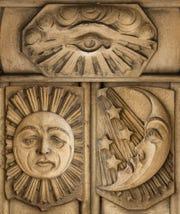 Details on Detroit's Masonic Temple.
