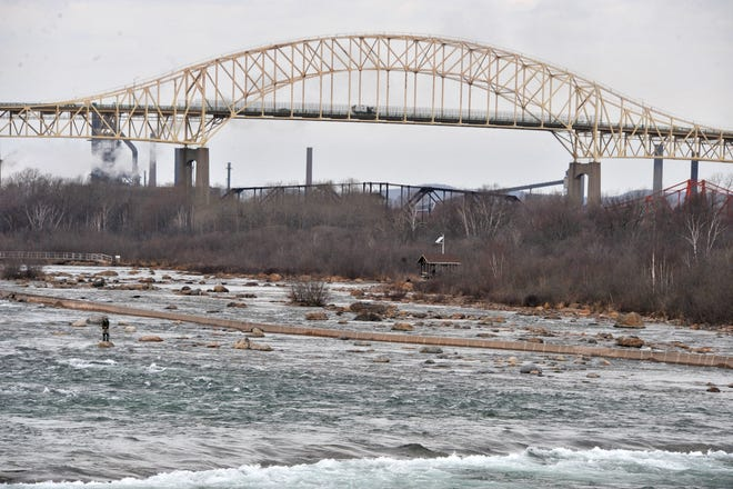 Tolls to cross the St Mary's River on  the International Bridge are increasing April 1.