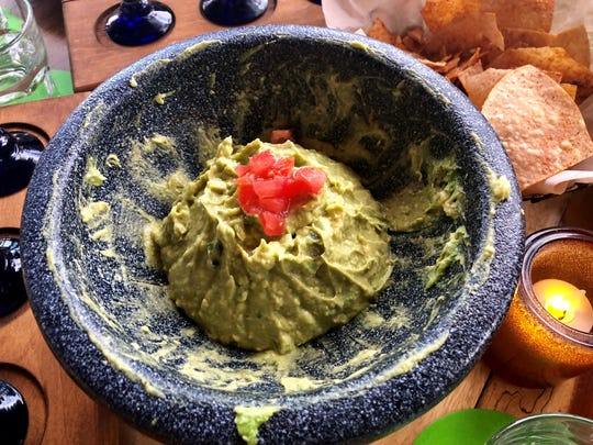 Rocco's makes its guacamole ($14) table-side. Maybe it was the busy night, but mine was mashed into an almost baby-food-ish puree.