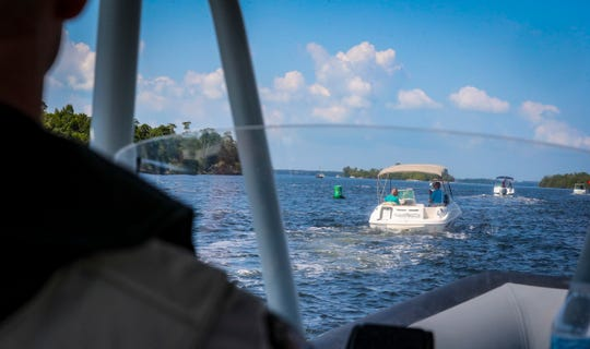 FWC gave an inside look at boating safety during a ride-along Wednesday early afternoon.