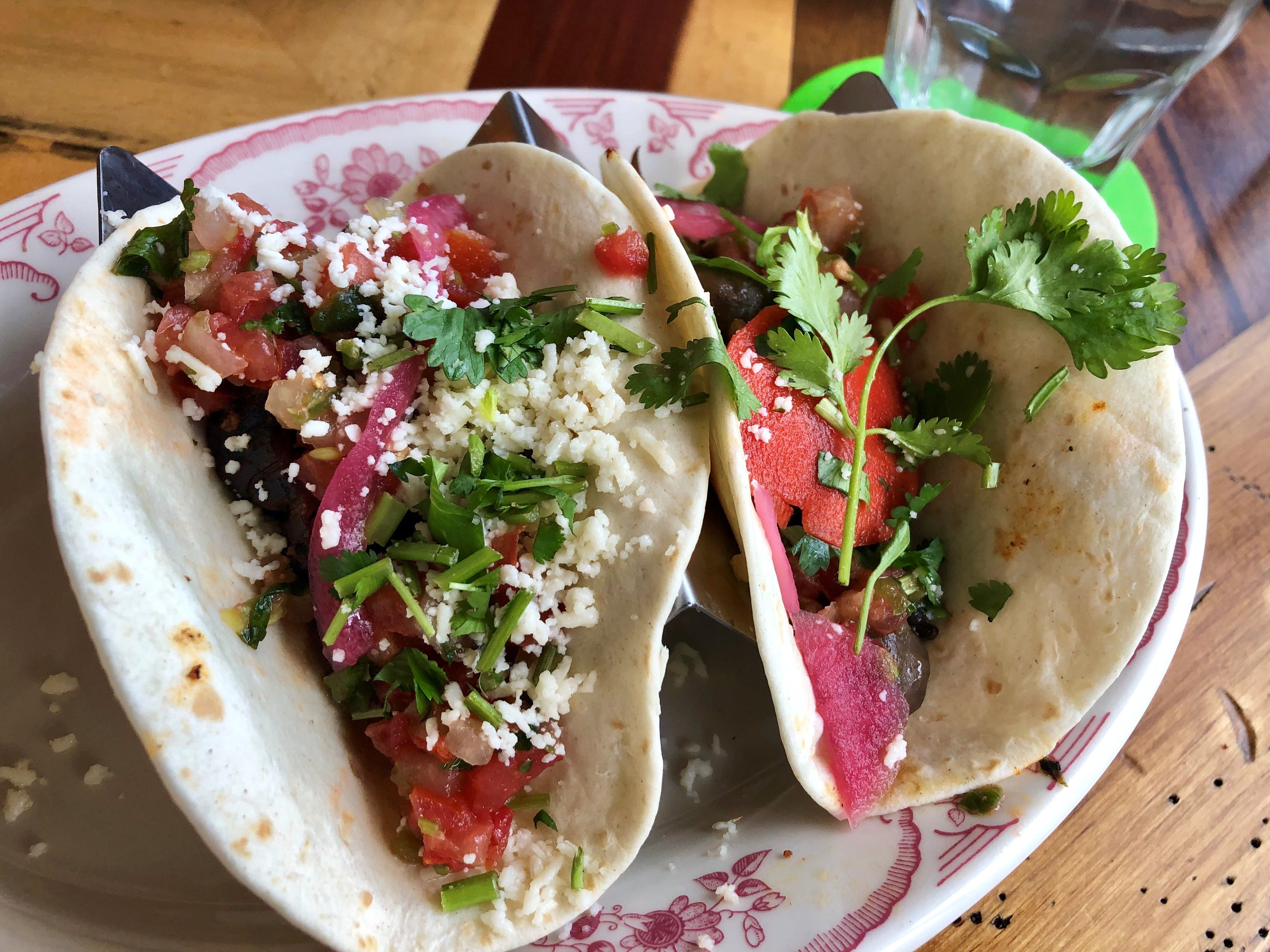 Rocco's actual tacos (priced from $4.50 to $6.50 each) are fine, though I think you can find better at most any local taqueria.