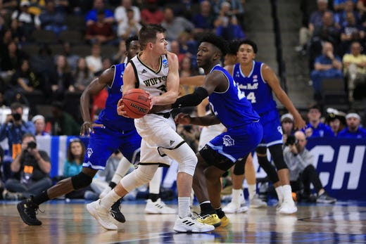 the best attitude 5f000 c669d Wofford's Fletcher Magee's NCAA Tournament play must be emulated