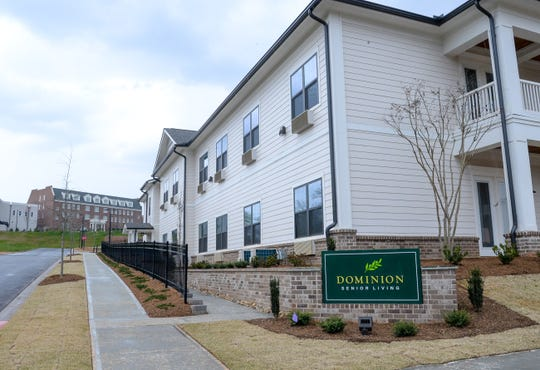 The Dominion Senior Living at Patrick Square in Clemson.