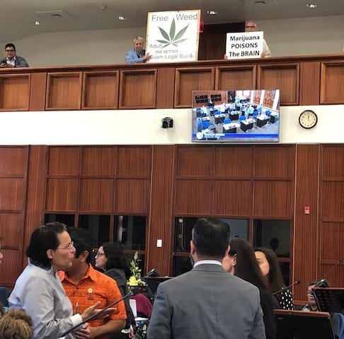 Vote on recreational marijuana bill at 5 p.m. Wednesday