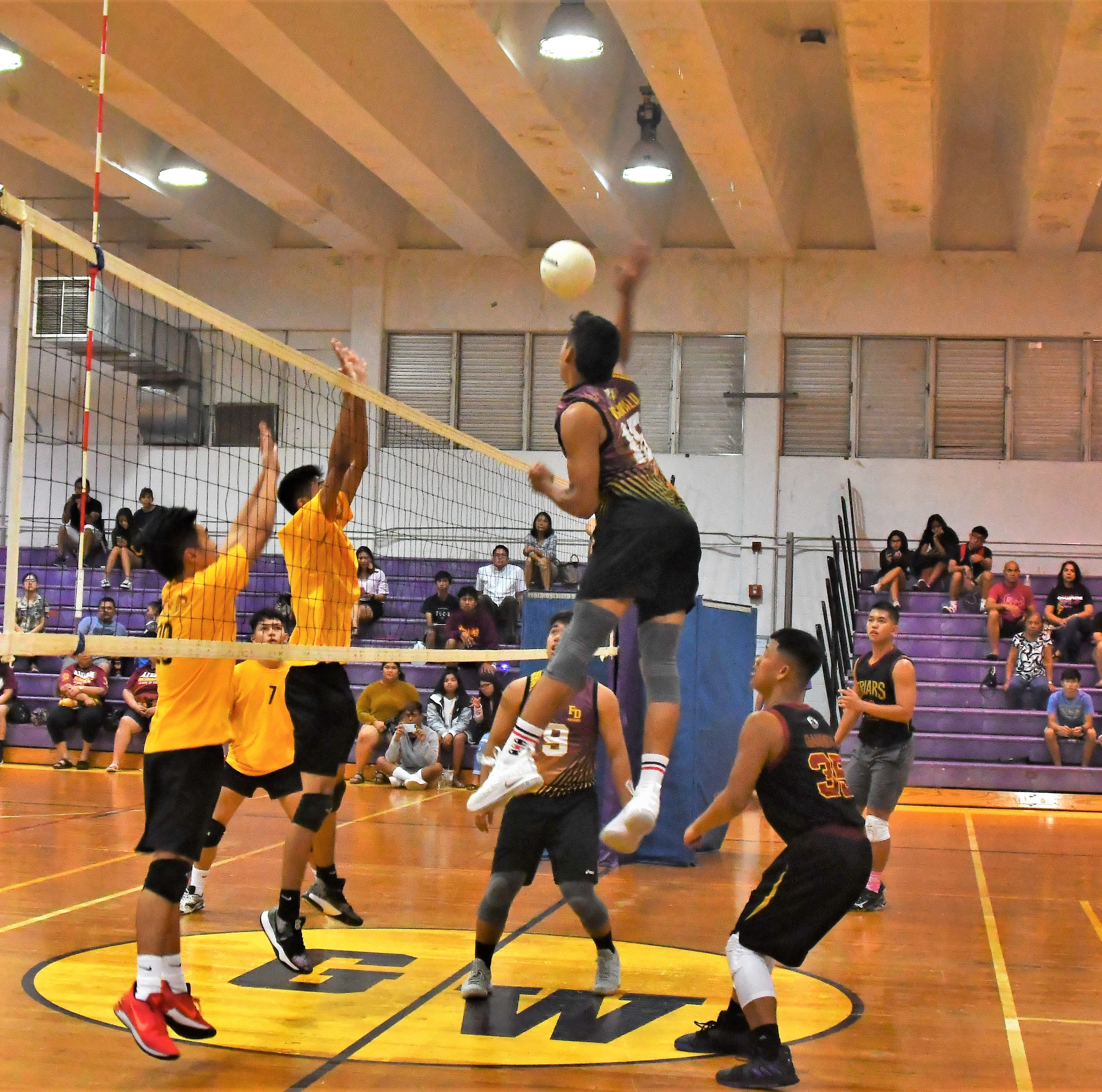FD Friars volleyball team unleash on GW Geckos in straight sets