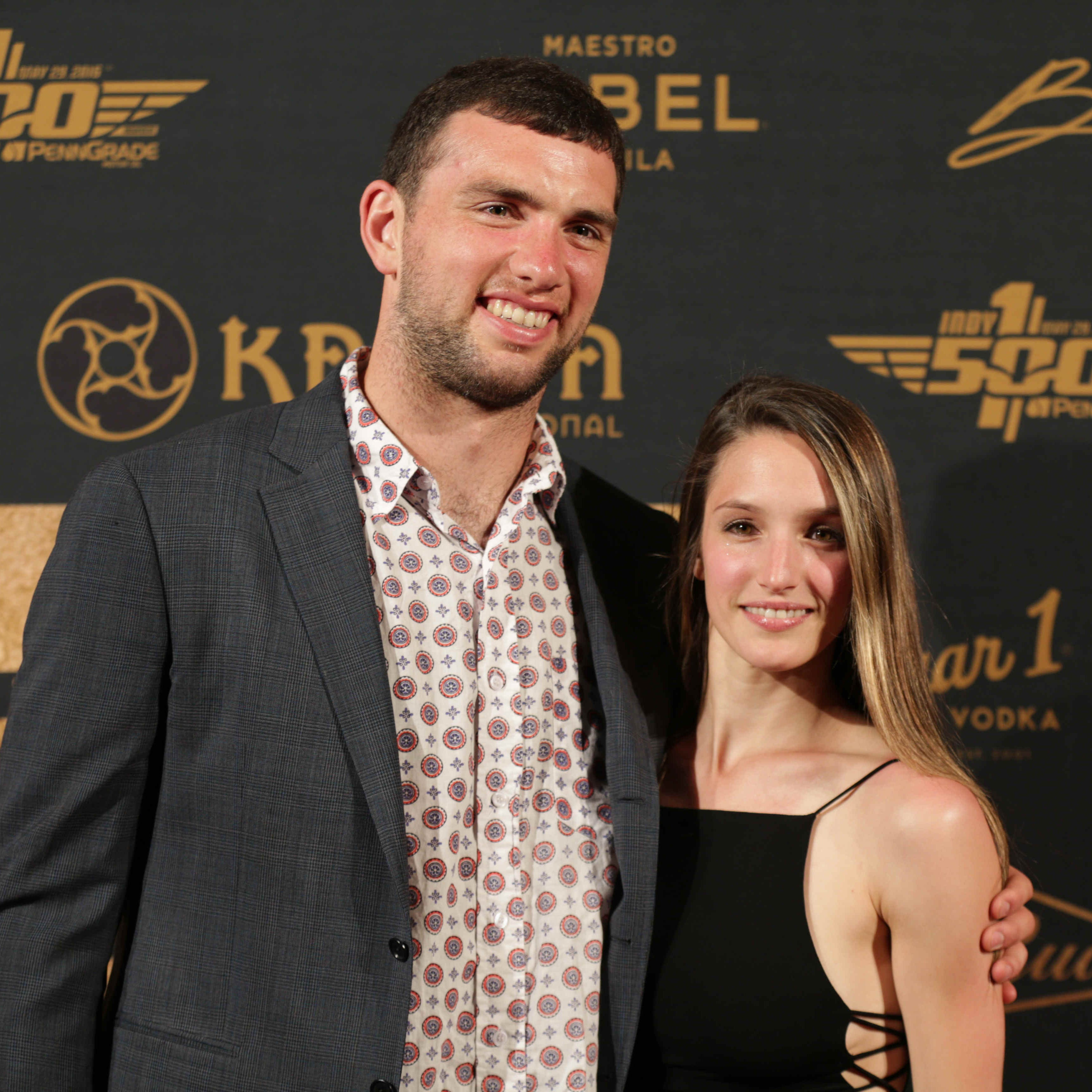 Andrew Luck marries girlfriend Nicole Pechanec in Prague wedding