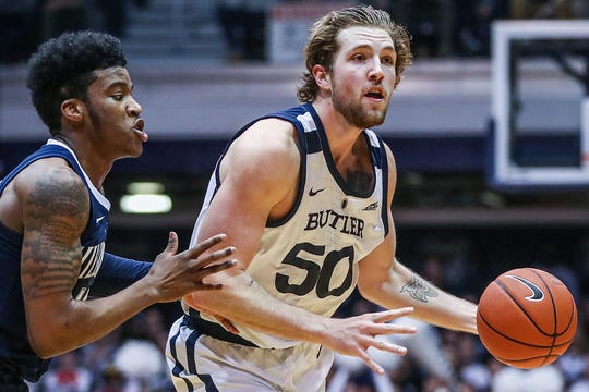 Joey Brunk will transfer from Butler.
