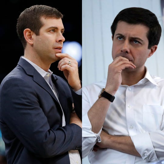 Brad Stevens and Pete Buttigieg draw frequent comparisons for their similar looks.