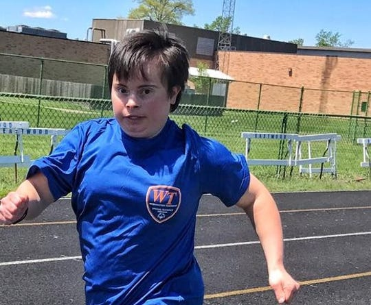Kelley Schreiner, 30, has been a Special Olympics athlete since she was 8 years old.