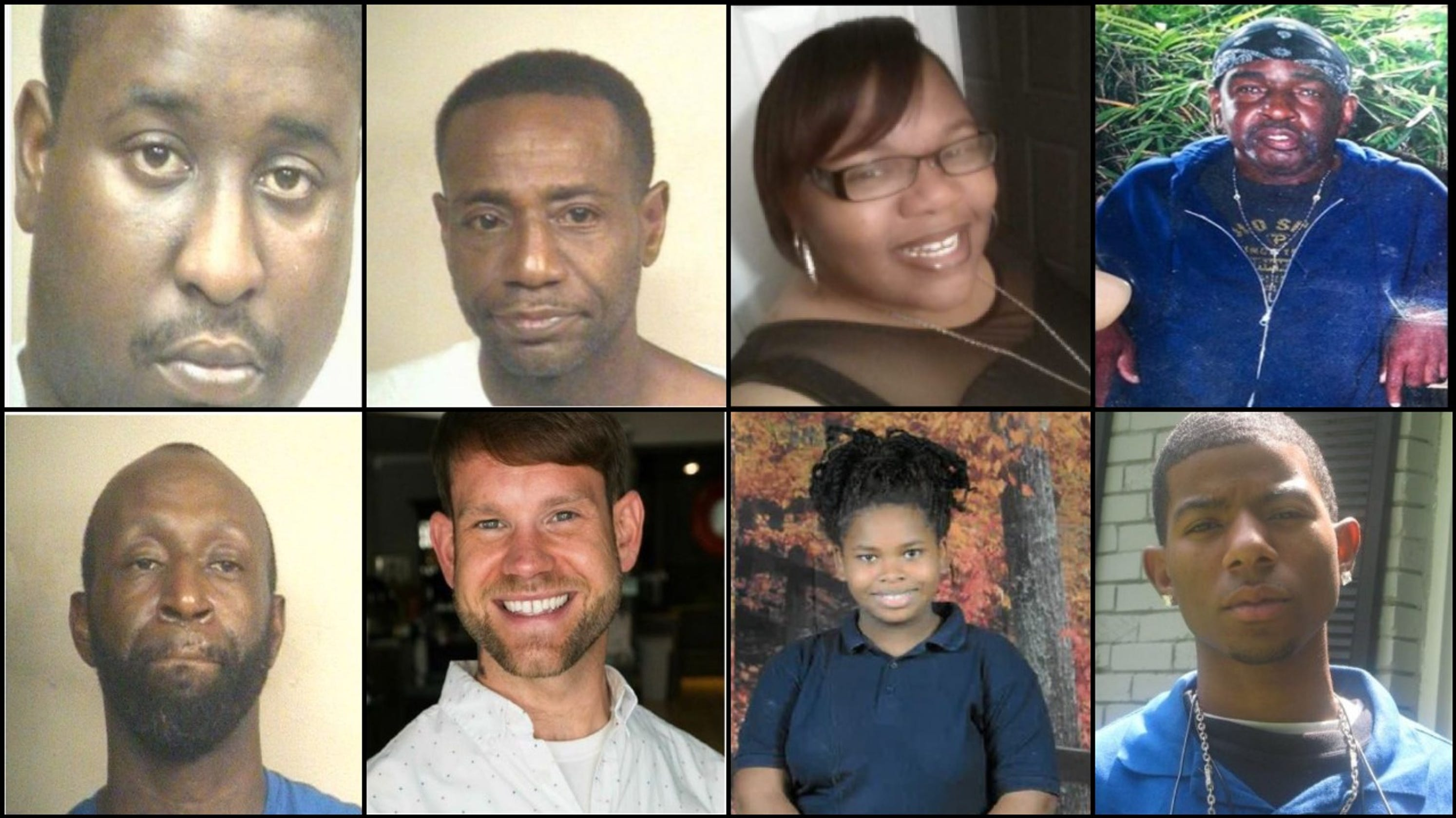 Jackson police ask for help in finding eight missing people