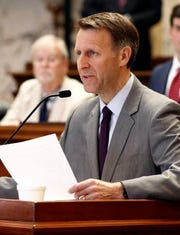 Senate Education Chairman Gray Tollison, R-Oxford, defends handpicking vendors as a routine affair.