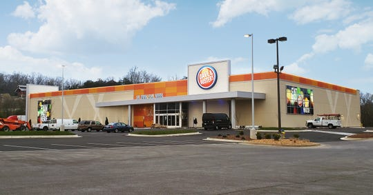 Dave & Buster's will open a 40,000-square-foot location in Sevierville on April 29, 2019.