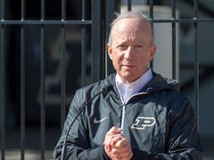 Mitch Daniels' letter played role in keeping Purdue football coach Jeff Brohm
