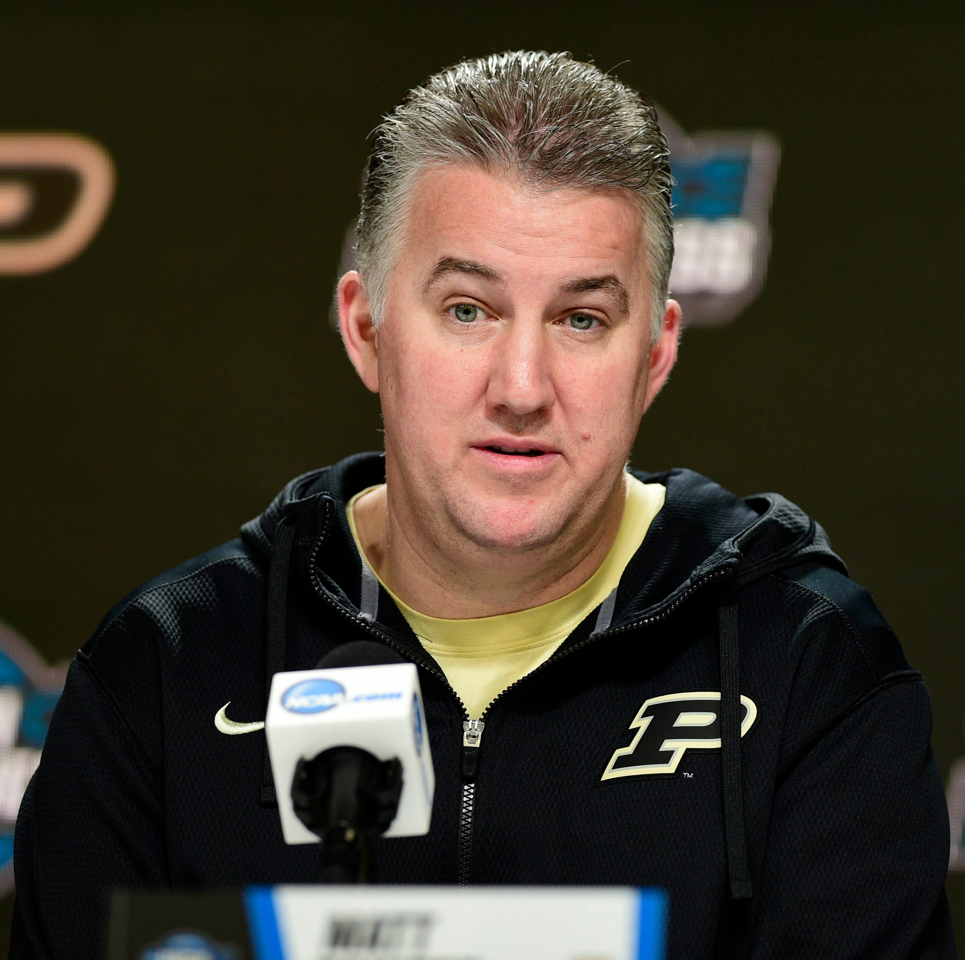 Purdue President Daniels, AD Bobinski set Matt Painter's Elite Eight bonus