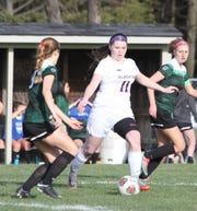 Fowlerville's Jackie Jarvis (11) is a returning first-team all-county soccer player.