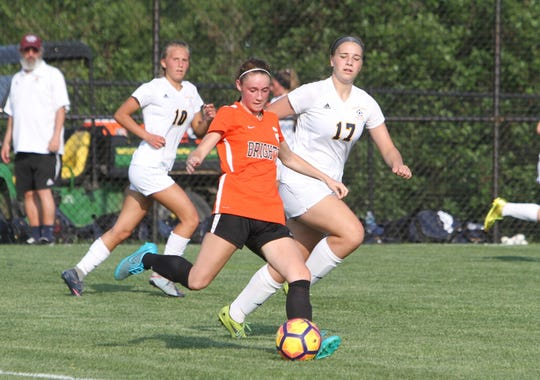 Senior Abbie Bowland provides experience in the midfield for Brighton.