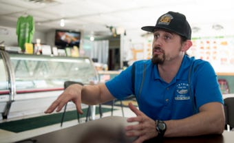 Of Henry Meyer's 16 current employees, 10 are convicted felons — an all-time high for his business that has found success with second chances.