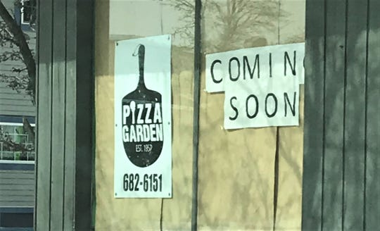 Manitowoc's Pizza Garden plans to open a new downtown restaurant on Eighth Street by June or July.