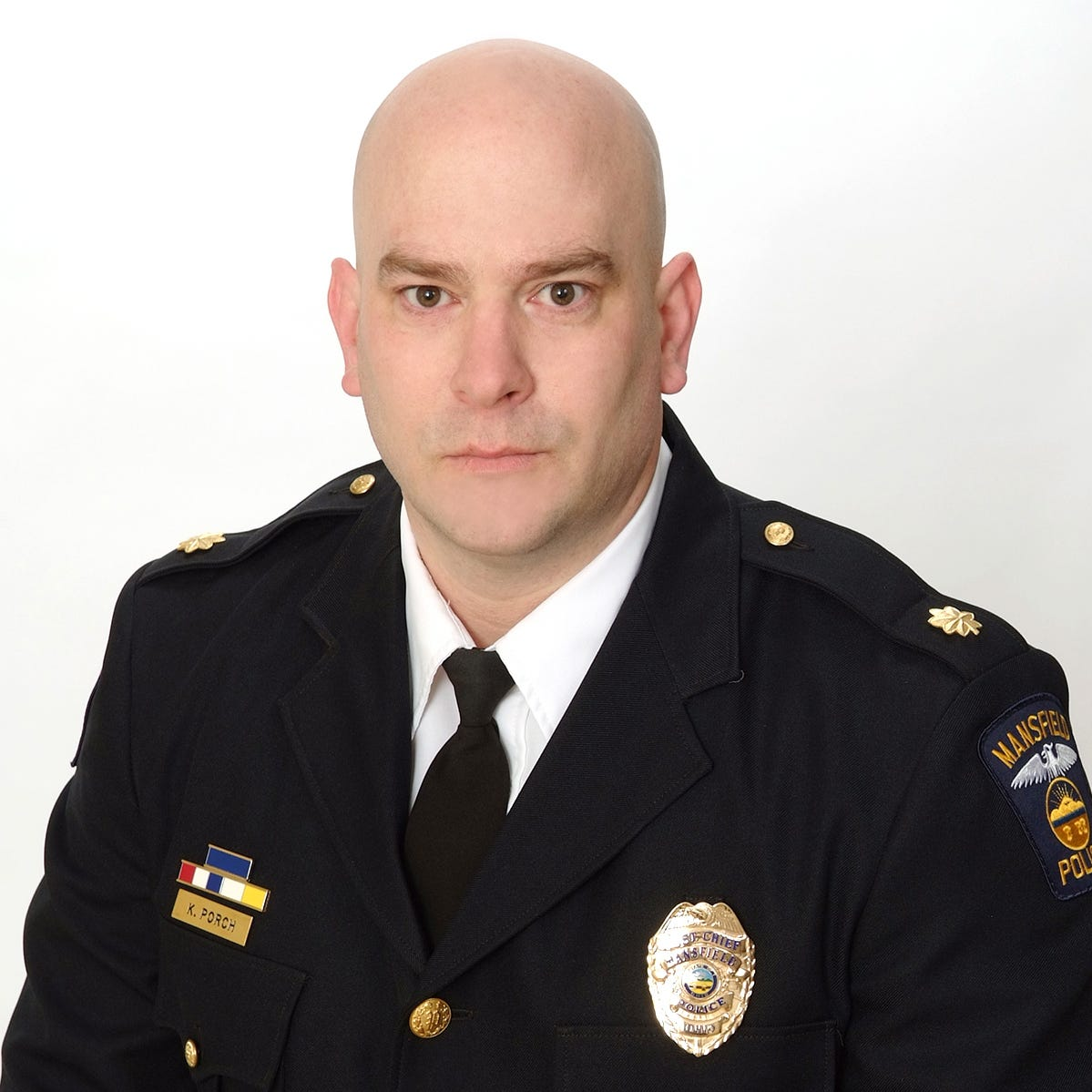 Keith Porch named new Mansfield police chief