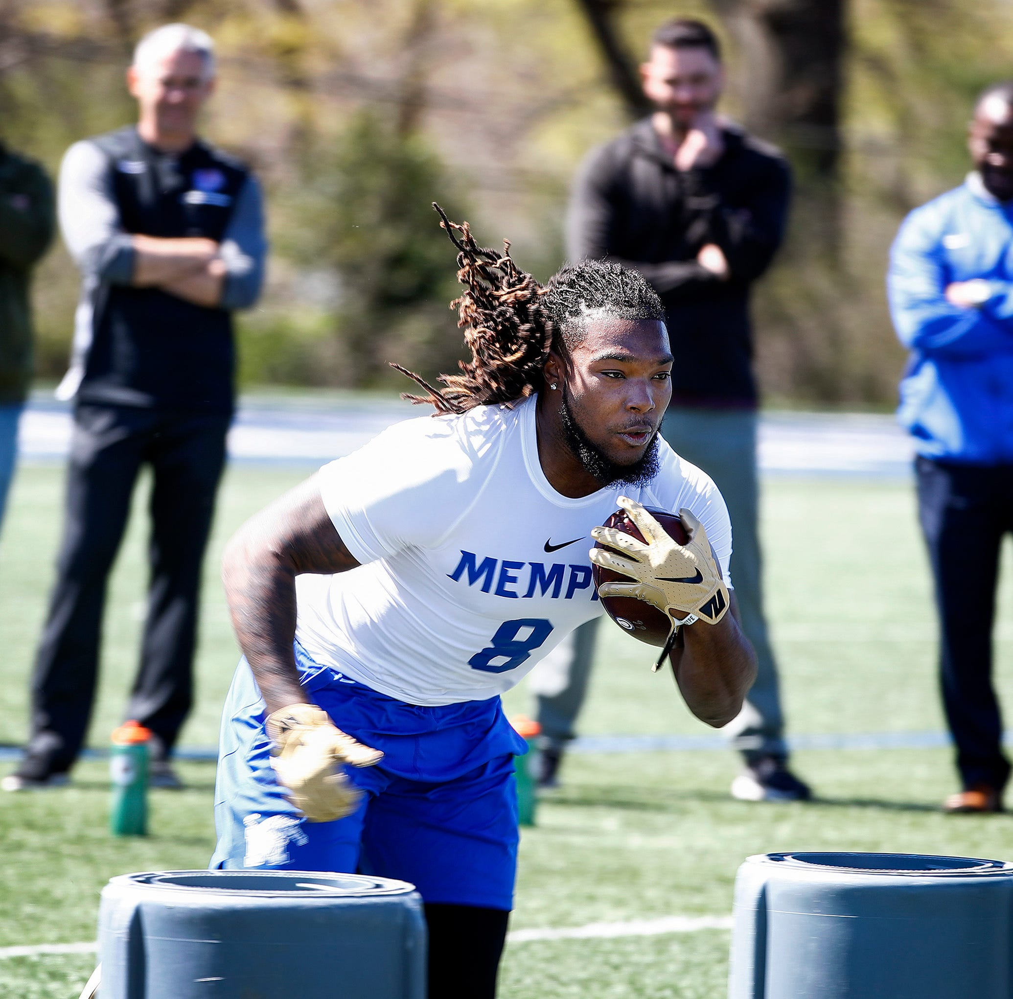 Memphis' Darrell Henderson, Vanderbilt's JoeJuan Williams receive NFL Draft invitations