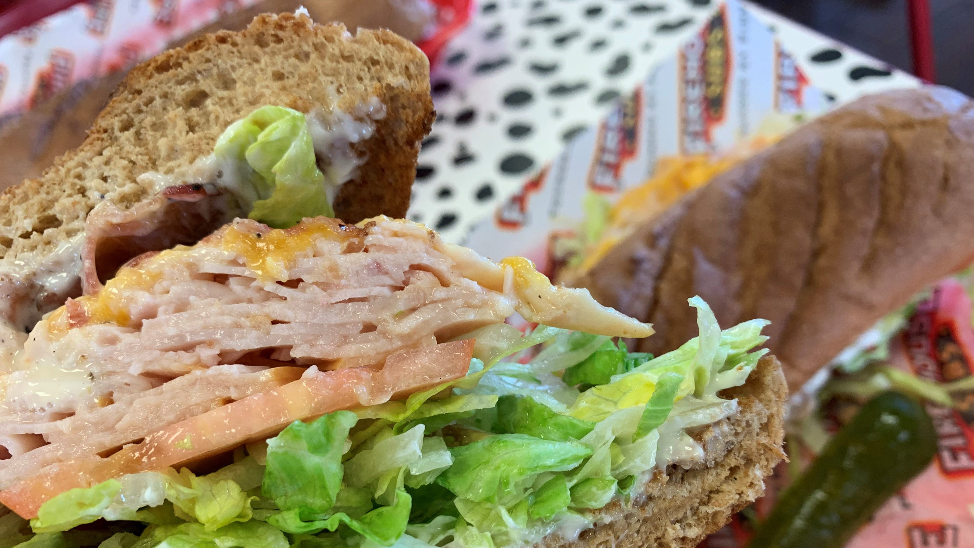 The turkey bacon ranch from Firehouse Subs, Naples.