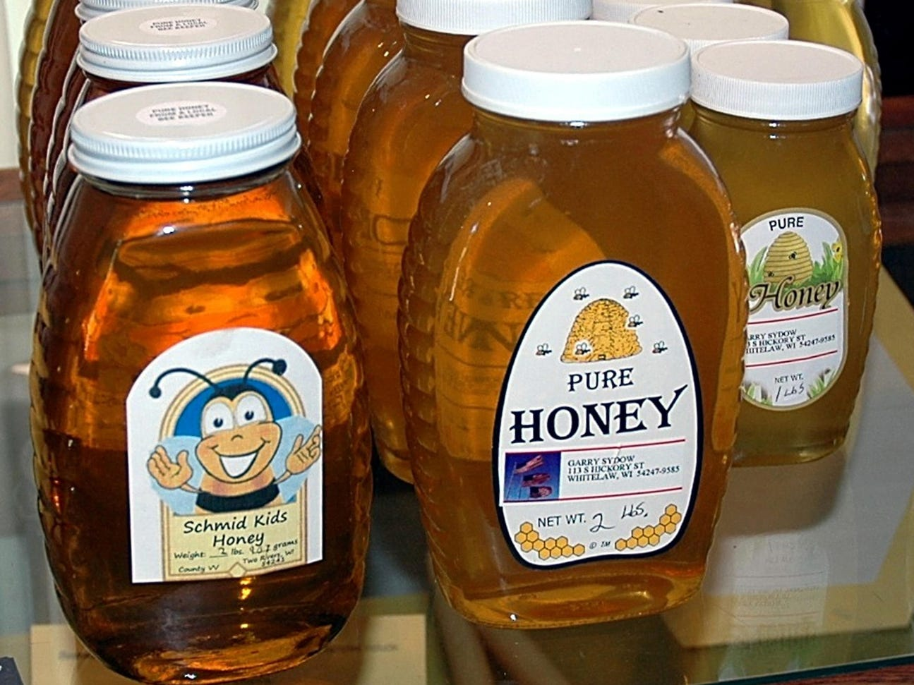 Honey can be safely stored at room temperature indefinitely.