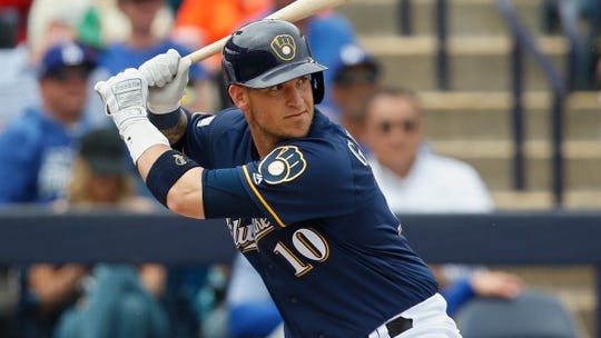 Yasmani Grandal received an $18.25 million offer in the offseason from the Brewers, who have an opening day payroll of about $122.5 million, easily a franchise record.