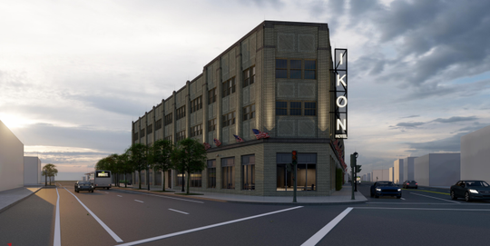 A boutique hotel proposed for Milwaukee's north side is seeking a $4 million city loan. The hotel's developer is late on paying property taxes for the site, but says that bill will be paid soon.