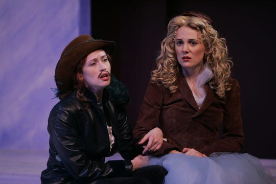 "Victoria Mack and Rebecca Bellingham in the Shakespeare Theatre of New Jersey's 2005 production of ""As You Like It."" The show is a part of the theater's 2019 season."