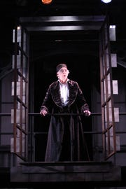 Philip Goodwin played Ebenezer Scrooge in the 2011 Shakespeare Theatre of New Jersey production.