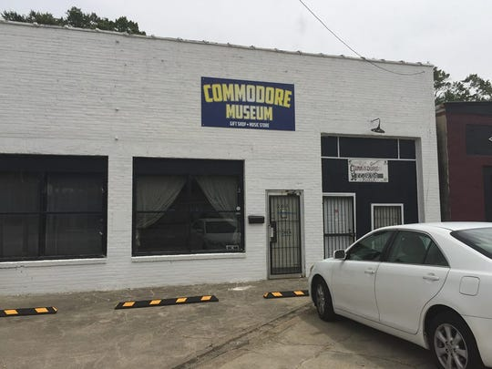 The exterior of the Commodore Museum in Tuskegee.