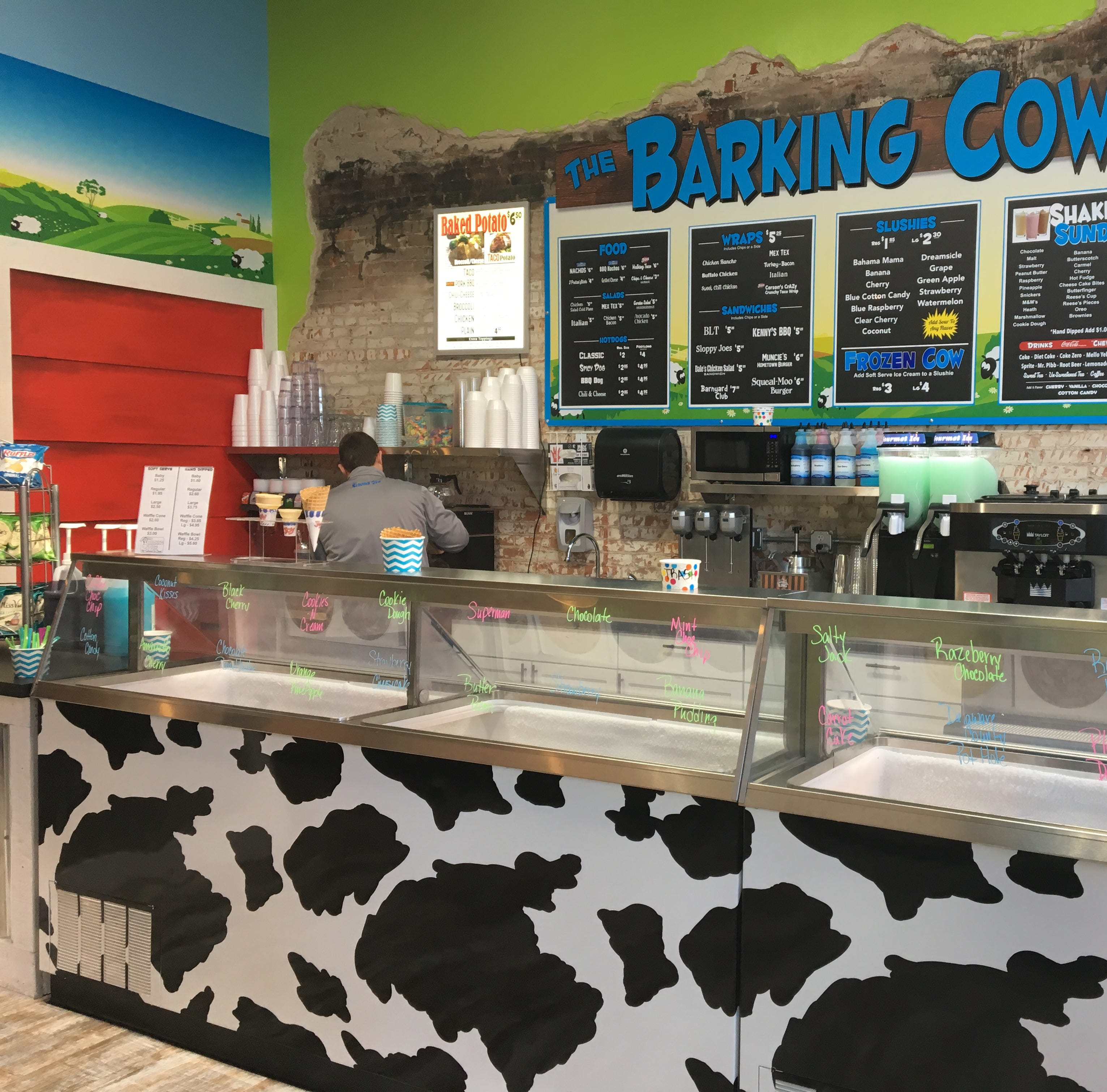 Barking Cow's downtown Muncie shop is open for business