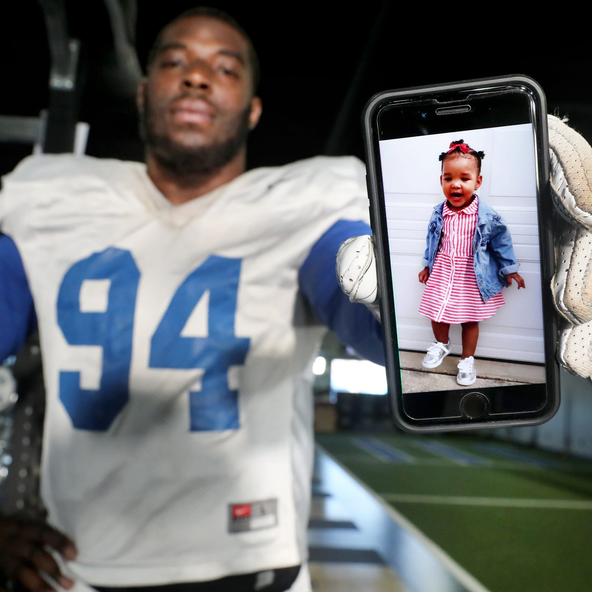 MTSU's Tyshun Render balances football, fatherhood