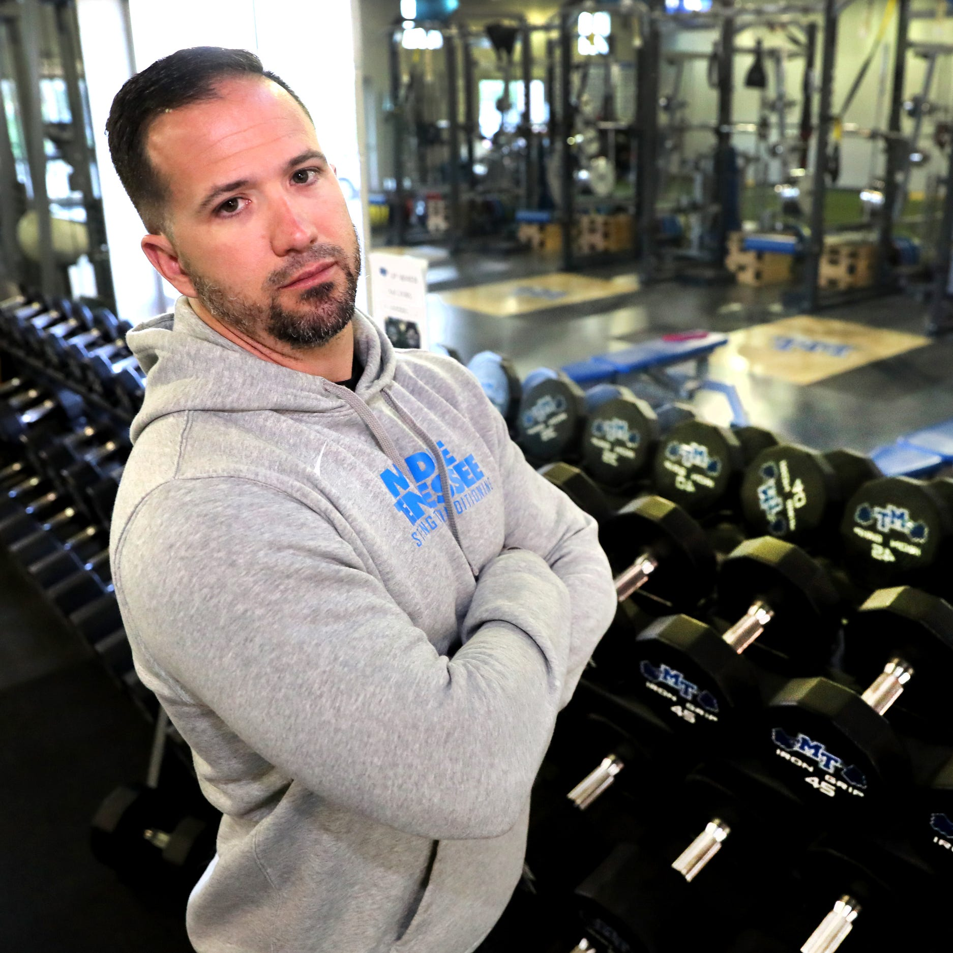 MTSU football turns to former MMA fighter for strength and conditioning