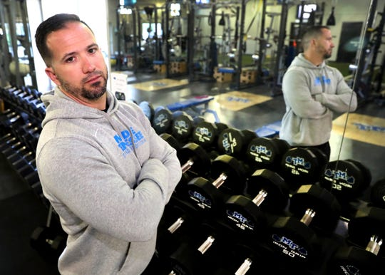 Matt Hickmann, a former amateur mixed martial arts fighter, is entering his second season as MTSU's strength and conditioning coach.